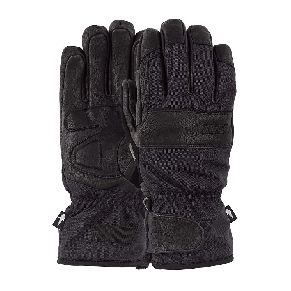 Gants de snowboard POW AUGUST Short Black
