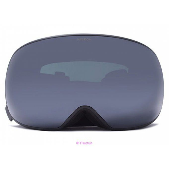 Masque de snowboard magnetique Kreedom Rover Blue Chrome
